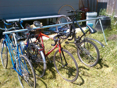 Shift bike racks