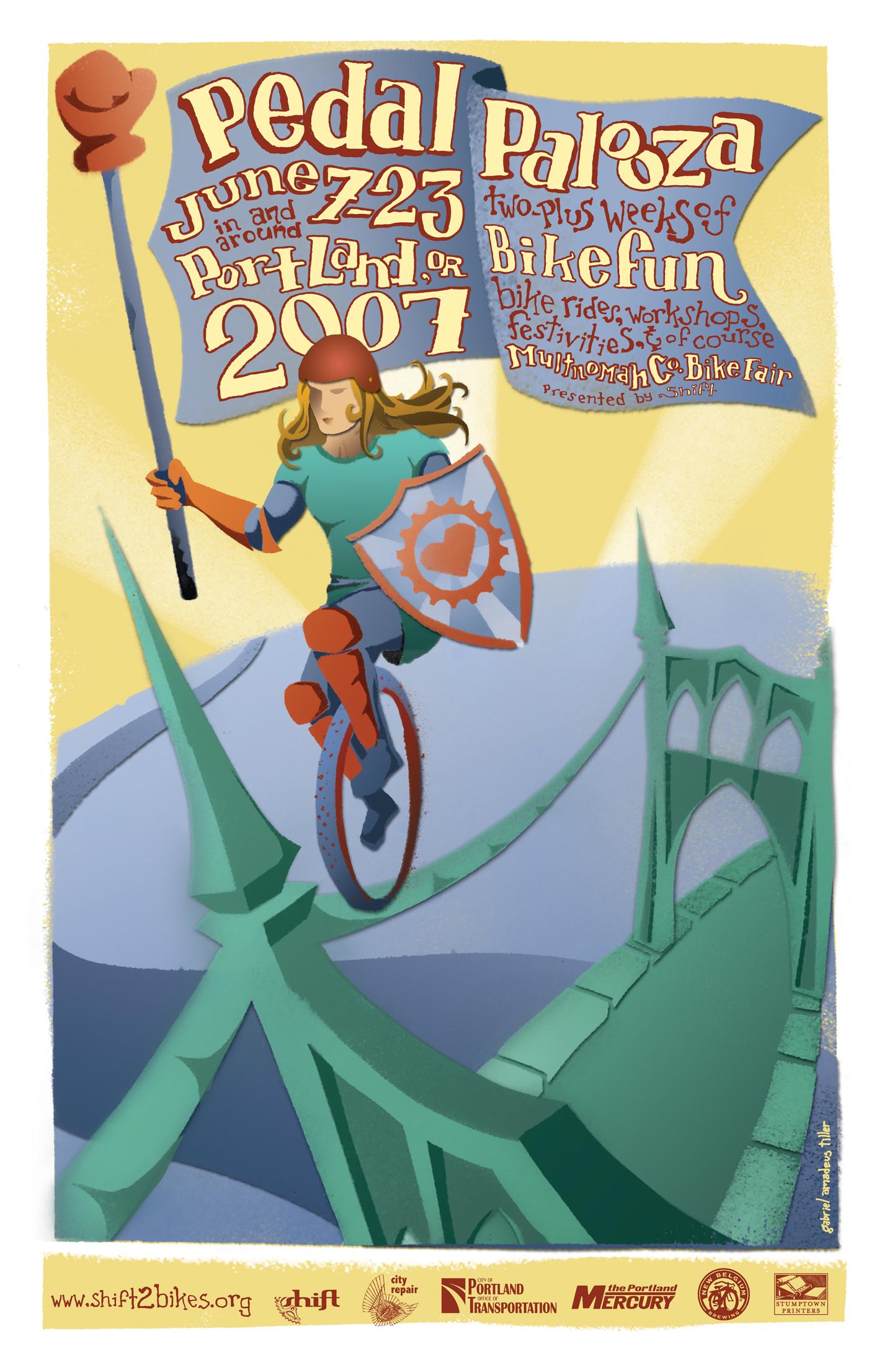2007 Pedalpalooza Calendar Shift