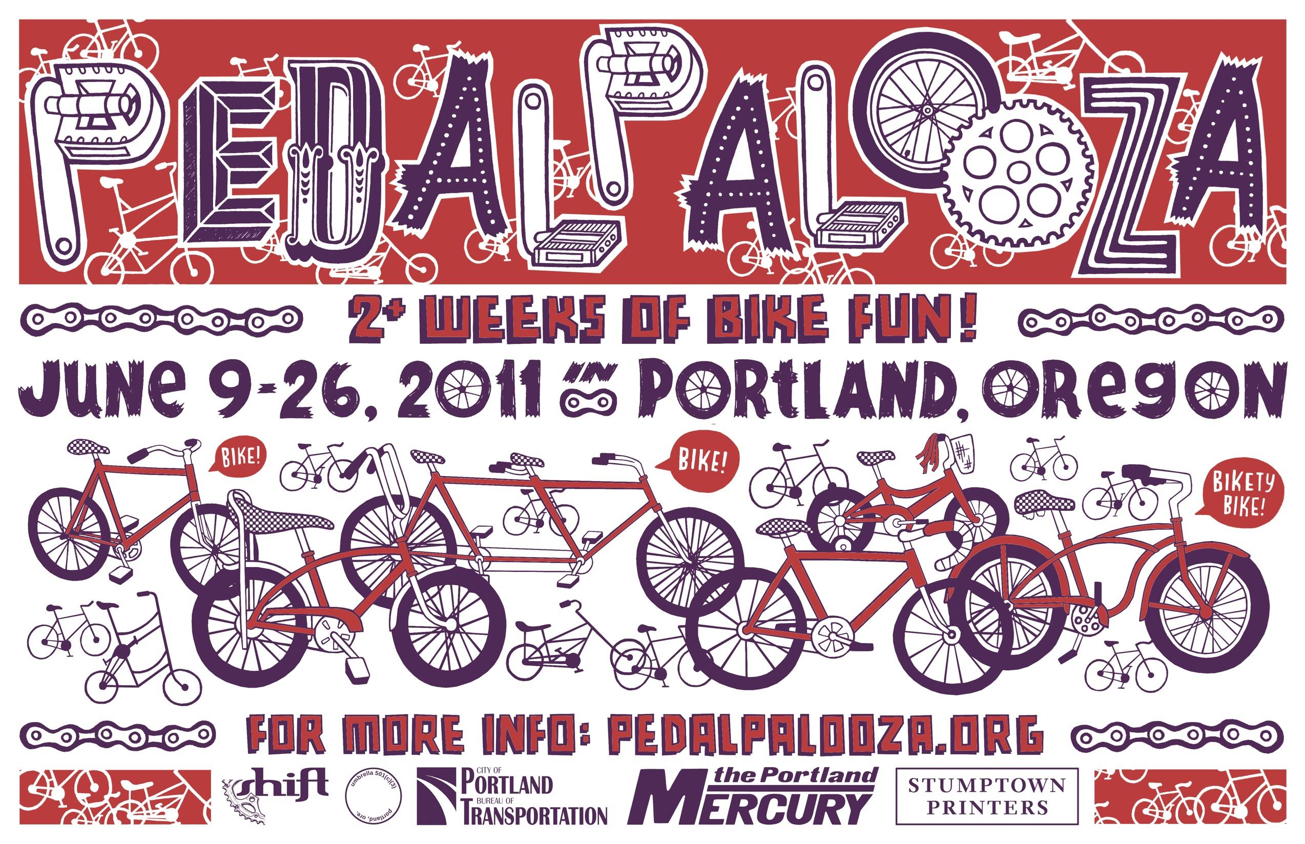2011 Pedalpalooza calendar - Shift